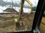 Preparing a foundation site for new home construction - 3 Brothers Excavating